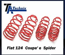 Kit molle Tecnix  -40mm assetto ribassato sportivo Fiat 124 coupe'1400 1600 1800