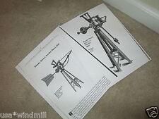 Dandy Steel Direct Stroke Windmill Diagrams & Trade Description