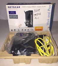 Netgear N300 Wireless#DGN2200, DSL,4-Port Switch- 802.11B/G/N(Built-in ADSL2+~GC