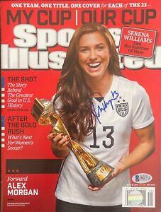 Alex Morgan Signed Sports Illustrated Magazine Team USA BASB81772
