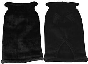 Mirage Pet Products Plain Knit Pet Sweater, Medium, Black
