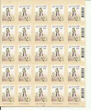Slovenian 0,05 EUR stamp - new & unused; full sheet