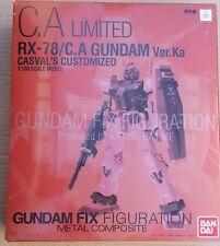 Gundam Fix Figuration Metal Composite RX-78/C.A Gundam Ver.Ka Casval B1339 nuovo