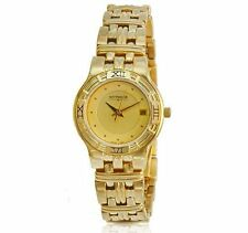 Wittnauer Swiss Gold Tone Stainless Steel Ladies' Watch BRAND NEW! 11m01