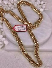 GoldNMore: 18K Gold Necklace Chain 20 inches 100.0G