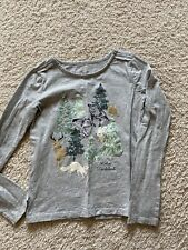 Gymboree All Spruced Up florest animal top tee in girls size 12 EUC