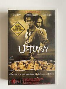 U-Turn [VHS] First Release 1997 Oliver Stone Big Box Ex-Rental Video VGC!