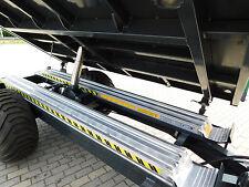 dreiseitenkipper, 3-seiten-kipper Anhänger EDK 3518 A Auffahrrampen Rückewagen