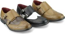 Giovanni CRISTIANO Mens Double Monkstrap Formal Dress Funky Brogues Shoes