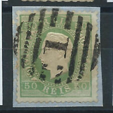 Portugal N°41 Obl (FU) 1870-80 Louis 1er