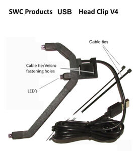 Gaming Head Tracker Head Clip for IR Head Tracking or TrackIR Replacement Clip.