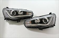 09-15 MITSUBISHI LANCER EX EVO10 LED HEAD LAMPS LED BAR FOR LEFT HAND DRIVE SPEC