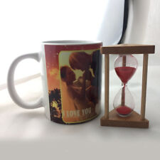 Hourglass Sandglass Sand Clock Timers 30 Second Kitchen Cooking Timer Red