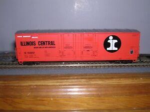 "ATLAS #????  I.C. ""Orange"" 50' Double Plug Door Box Car #150057  H.O. 1/87"