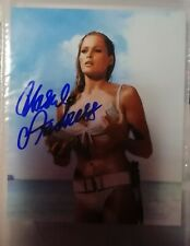 AUTOGRAFO BOND GIRL 007 URSULA ANDRESS HAND SIGNED FOTO BIKINI AUTOGRAMM CINEMA