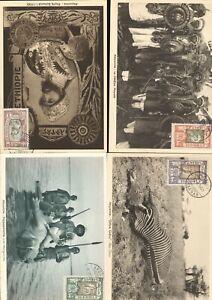 ETHIOPIA 15 MAXIMUM CARDS HUNTING   - 410