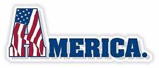1x ADESIVO USA AMERICA PATRIOT Decalcomania Stati Uniti Nuovo