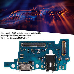 For Samsung M51/M515F Tail Plug Board Charging Dock Connector PCB USB Accessory
