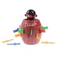Adult kids new pirate party toy pirates barrel  TLP