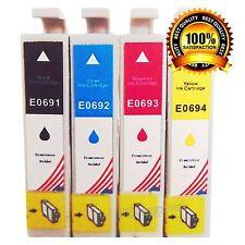 4pk T069 #69 Ink for Epson Stylus NX300 NX400 NX305 NX415 NX510 NX515 Print