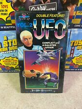 Vintage 1988 Double Sci-Fi Feature UFO Volume 2 Original VHS NEW Sealed