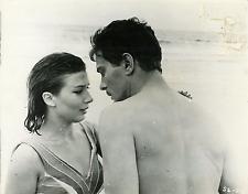 "Cinéma, ""Summer skin"", Alfredo Alcon et Graciela Borges Vintage Print Tirage a"