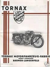 TORNAX  1928 PROSPEKT BARMEN - LANGERFELD WEWER