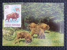 ROMANIA MK BISON WISENT MAXIMUMKARTE CARTE MAXIMUM CARD MC CM c1051