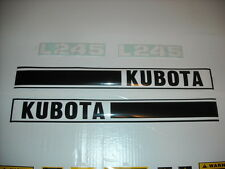 Tractor decal set to fit Kubota L245 tractor