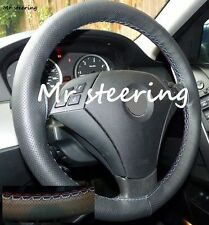 FITS BMW 1 SERIES F20 REAL PERFORATED LEATHER STEERING WHEEL COVER M3 /// STITCH