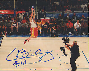Chase Budinger MN Minnesota Timberwolves Signed 8x10 Photo B2 COA GFA