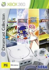 SEGA Dreamcast Collection 4 Games Crazy Taxi Sonic Bass Xbox 360 PAL No Manual