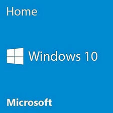 Genuine Windows 10 Home 32/64bit OEM Originale codice di licenza PC di scarto