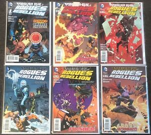Forever Evil Rogues Rebellion 1,2,3,4,5,6 The new 52 2013 set lot NM Flash