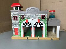 Thomas & Friends Wooden Railway Deluxe Sodor Fire Station 2006