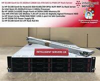 HP DL180 Gen9 2x E5-2620v4 128GB 12x 4TB SAS 1x P440 LFF Rack Server