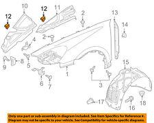 97050412320 Genuine Porsche Panamera Fender Liner Extension Left Shield 10-15