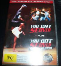 You Got Served / Take It To The Streets (Australia Region 4) DVD - NEW