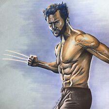 Wolverine Lápiz y pluma de dibujo. Original Fan-Arte. Logan Xmen