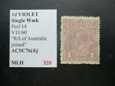 Australia Stamps: KGV Collection - Must have! Great Item (q867)