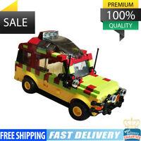 Jurassic Park Tour Vehicle Ford Explorer Building Blocks Brick Toys MOC 25926