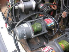 1 USED WARRIOR EWX 4500 12V WINCH WITH DYNEEMA ROPE 2000KG ROLLING PULL . CHOICE