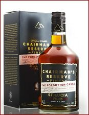 Rum Chairman's Reserve Finest The Forgotten Casks St. Lucia not chill