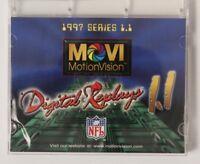 1997 MotionVision Digital Replays Series 1.1 Joey Galloway NFL Football