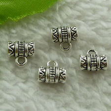 free ship 600 pieces tibet silver nice bail charms 8x8mm #3542