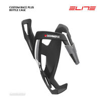 NEW Elite CUSTOM RACE Cycling Water Bottle Cage SOFT TOUCH MATTE BLACK
