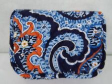 Vera Bradley Travel Jewelry Organizer- MARRAKESH - Blue Quilted