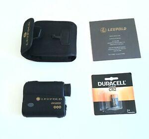 Leupold Laser Rangfinder RX-1200i w/ DNA Black Gray
