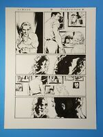 Shadowman #8 page 11 Lewis LaRosa Valiant Comics Original Art 2013