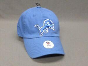 Detroit Lions NFL Clean Up Hat Honolulu Blue